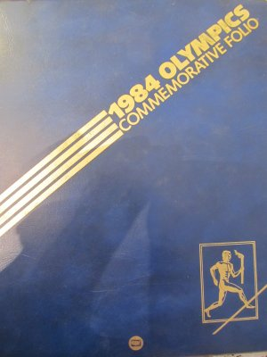 1984 Olympics - Commemorative folio (FDC Yugoslavia, SUA - Plic prima zi - 4 buc.)