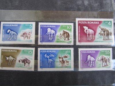 Animale preistorice , serie , 1966 , nestampilata