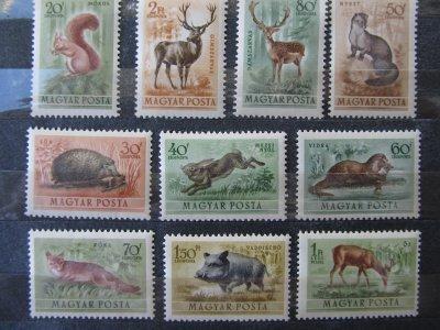 Animale salbatice , serie , 1953 , nestampilata