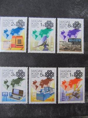 Anul comunicarii mondiale , serie , 1983 , nestampilata