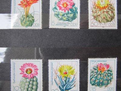 Cactusi , serie DDR , 1983 , nestampilata