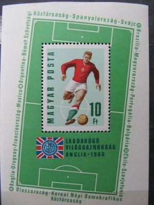 Campionatul mondial de fotbal din Anglia , colita , 1966 , nestampilat