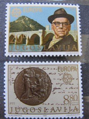 Europa , inventii , serie Yugoslavia , 1983 , nestampilata