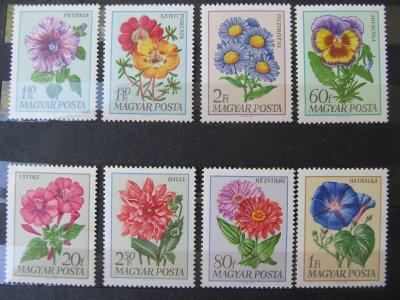Flori , serie , 1968 , nestampilata