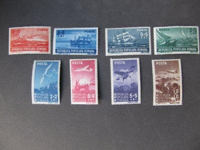 Marina si Aviatie , serie , 1948 , nestampilata