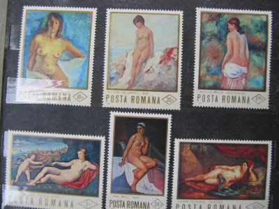 Nuduri , serie , 1971 , nestampilata
