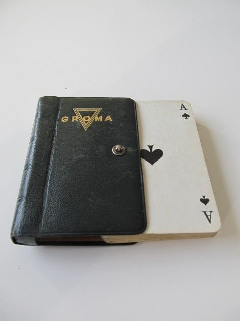 Pachet de carti de joc Groma Skat , 32 carti , in etui deosebit