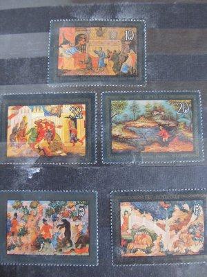 Picturi , serie URSS , 1982 , nestampilata