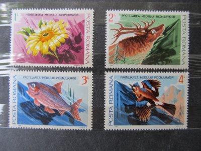 Protejarea mediului inconjurator , serie , 1984 , nestampilata