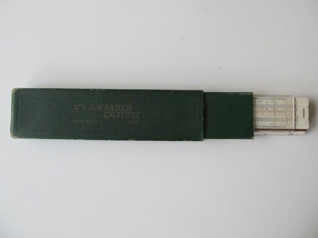Rigla de calcul Faber Castell 1/87 Rietz
