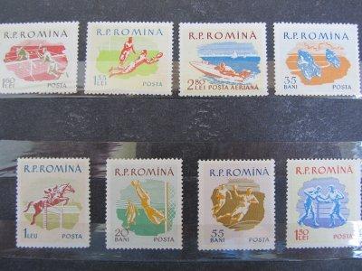 Sport , serie , 1959 , nestampilata