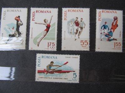 Sport  , serie , 1965 , nestampilata