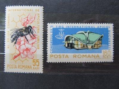 Targul international apicol . serie , 1965 , nestampilata
