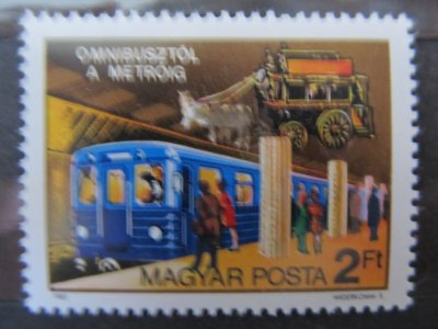 Transport public , 1982 , nestampilat