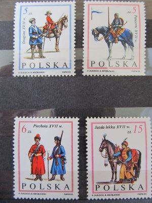 Victorie impotriva turcilor (1) , serie Polonia , 1983 , nestampilata